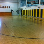 Choate Gymnasium Connecticut Hardwood Floor