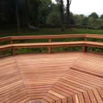 Custom Hardwood Deck