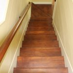 Custom Hardwood Staircase Hickory