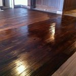 Custom Hardwood Floor Walnut