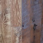 "Antique Oak Distressed Hit/Miss ""Hay Stack"" & ""Shaker Gray"""
