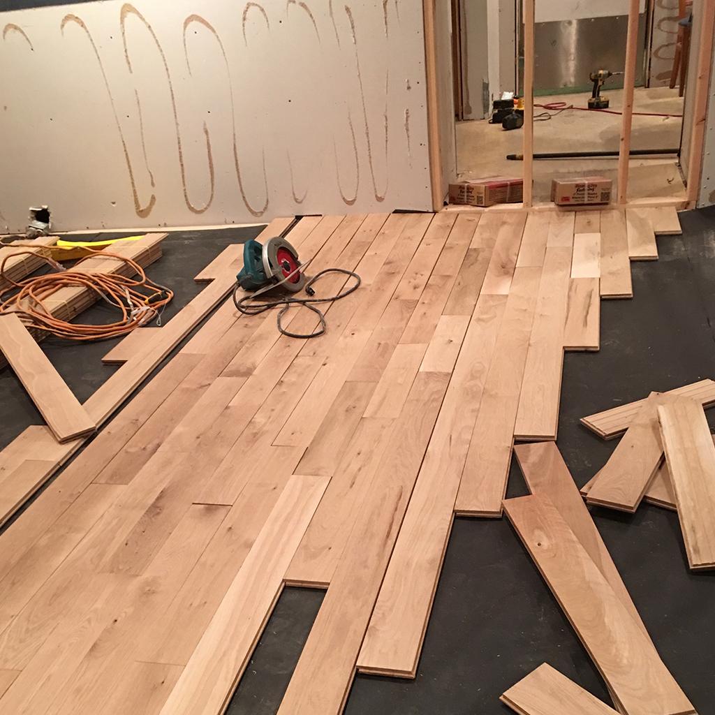 Custom Hardwood Flooring Installation Nantucket Custom